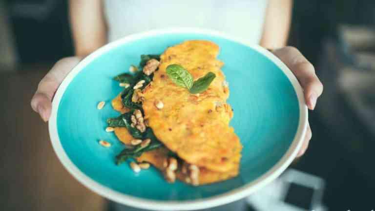 Fit omlet bez glutenu, z mąki kukurydzianej