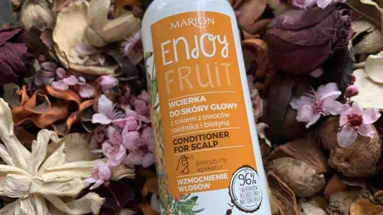Marion, Enjoy Fruit, wcierka do skóry głowy