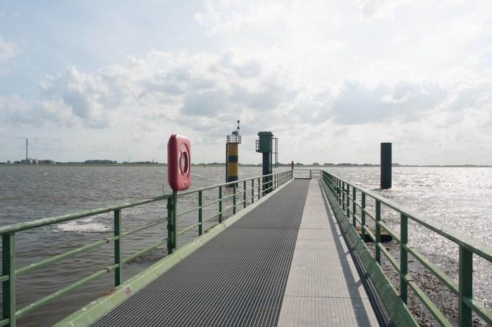 Pier beim Schlepperhafen