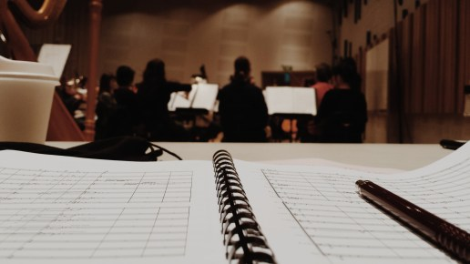 Rehearsal with the TSO