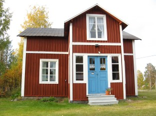 Huset - Our house.