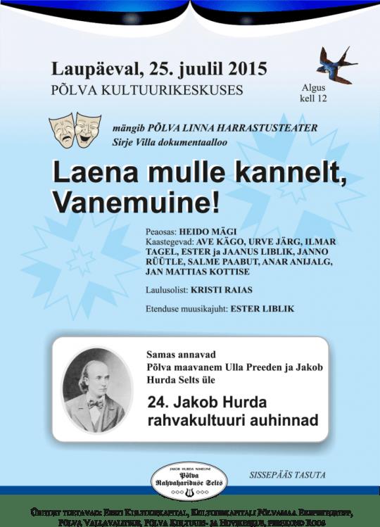laena-mulle-kannelt-plakat