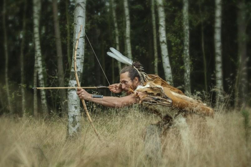bojovník v kmenové válce