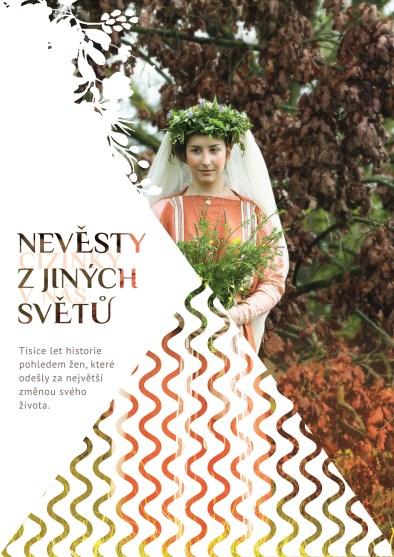 Výstava Nevěsty z jiných světů -plakát