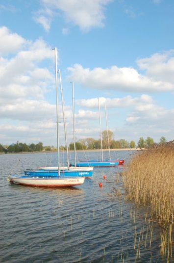 Przystań żeglarska na J. Łódzko-Dymaczewskim