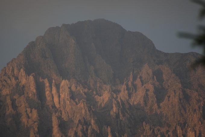 żelazna droga góra