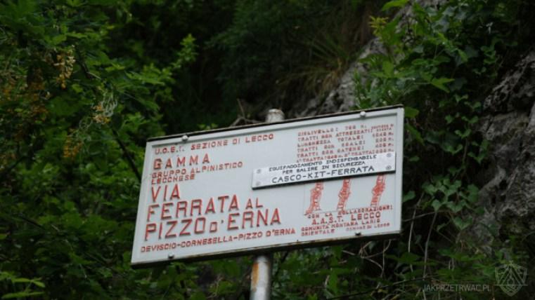 Via ferrata Gamma 1 Piani d'Erna