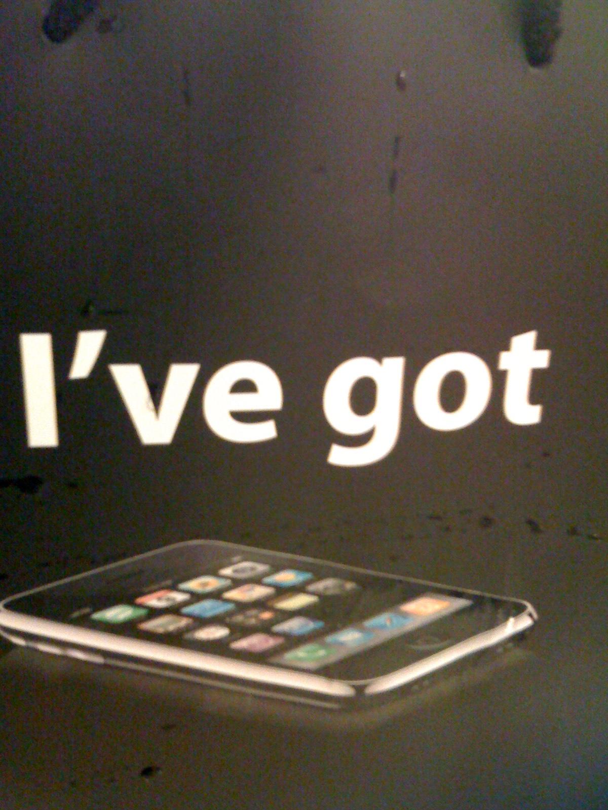 I've got iPhone 3G