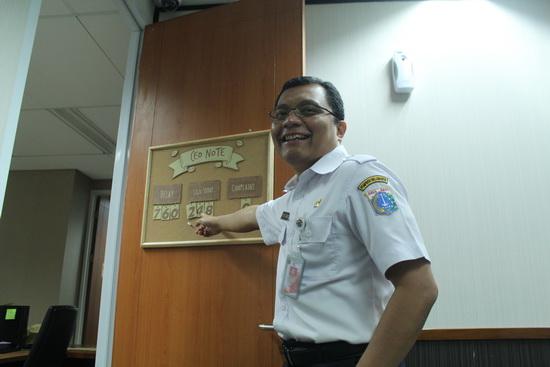 Kepala BPTSP Jakarta Edi Junaedi Harahap (alif)