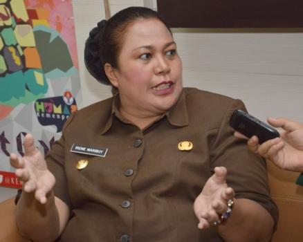 Wakil Gubernur Papua Barat Irene Manibuy. (Sigit Artpro)