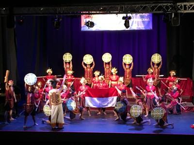 Penampilan LSPR Choir pada ajang Lomba Paduan Suara di Spanyol (istimewa)