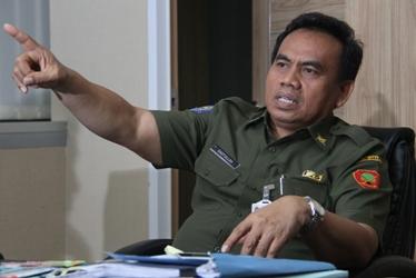 Sekretaris Daerah Pemprov DKi Jakarta Saefullah. (makmun)