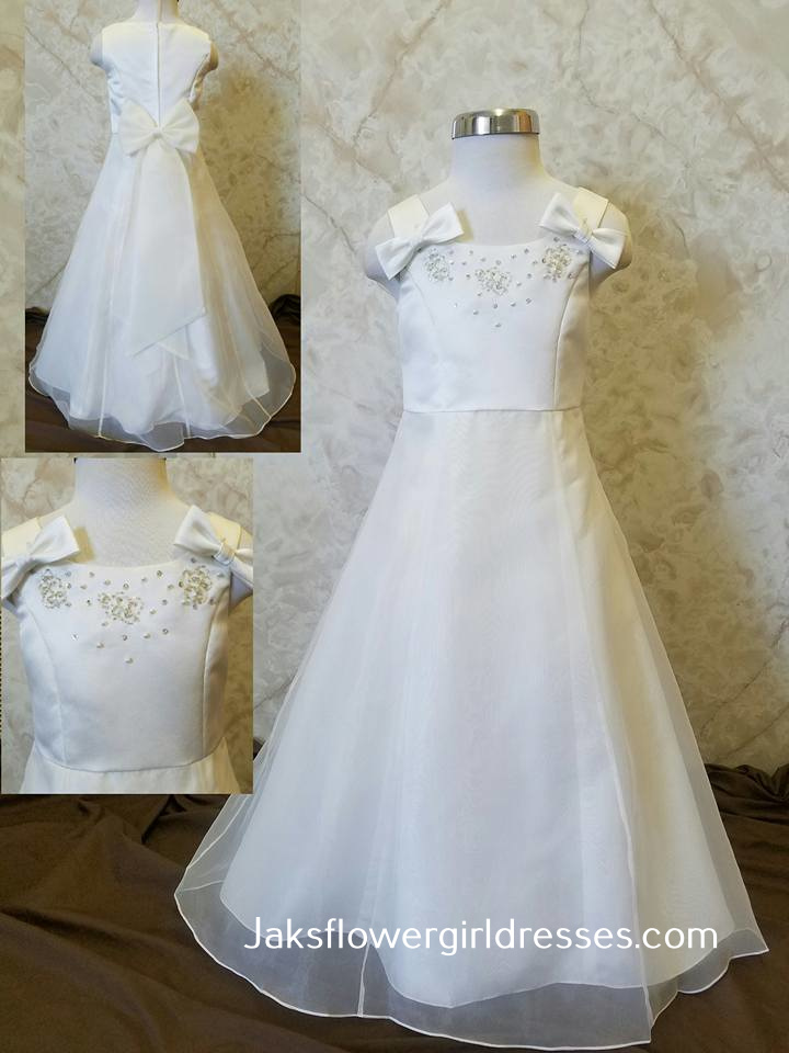 a30c6b9ce9c Cheap ivory flower girl dresses. Flower Girl Dresses in White or ivory ...