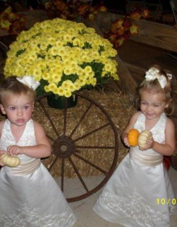 12 month old flower girls