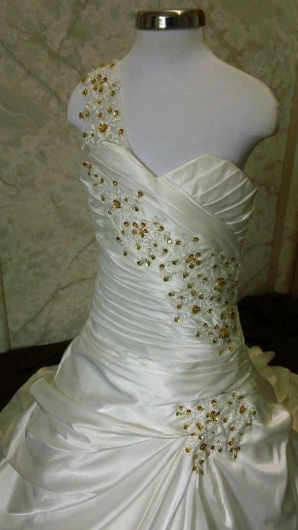 wedding dress for my flower