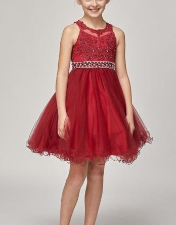 Girls party dresses.