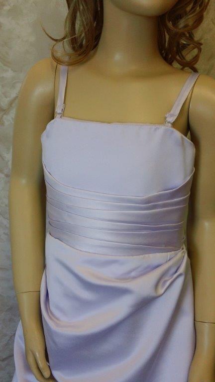 orchid bridesmaid dress