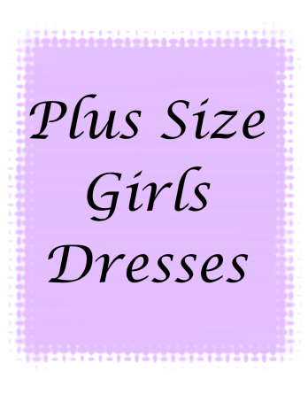 Plus Size Girls Dresses
