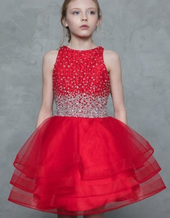 red dresses for a school dance