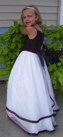 chocolate brown bridesmaids dresses