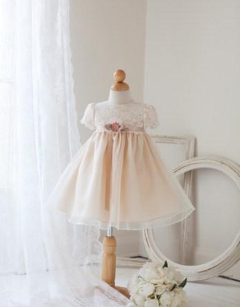 IvoryTan baby dress sale