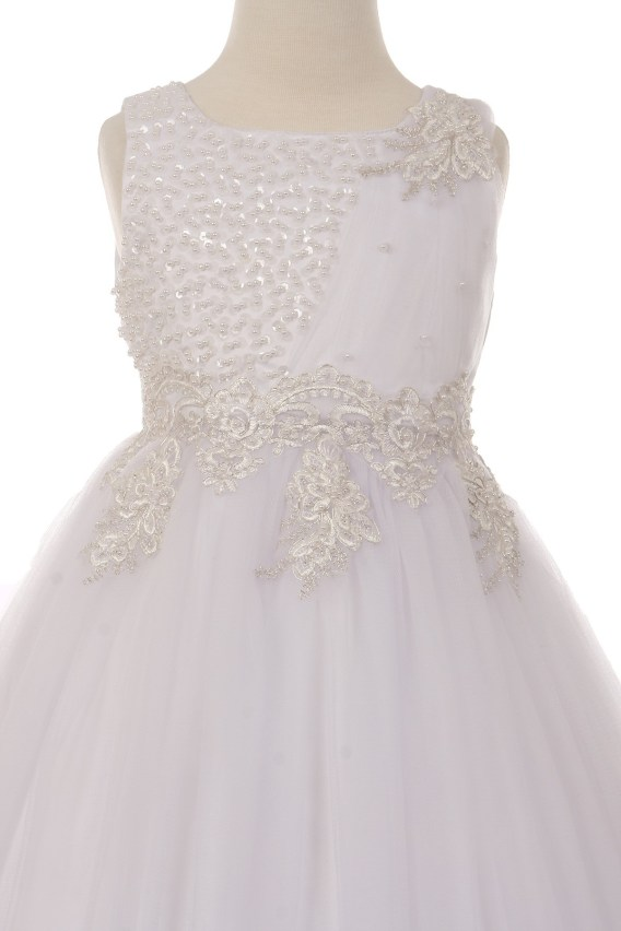 white dress bodice
