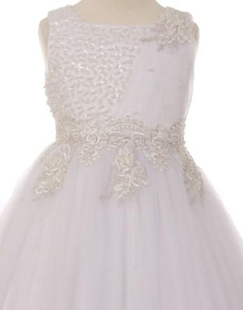 white dress bodice