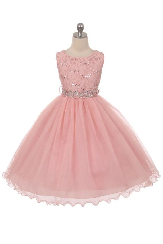sequin dress pink
