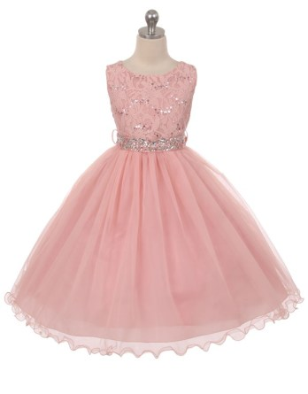 sequin dress pink