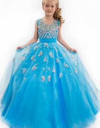 blue pageant dress sale