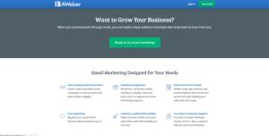 aweber - najlepsze narzędzie do email marketingu i newslettera