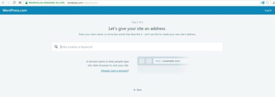 założenie bloga na wordpress.com - nowy adres bloga