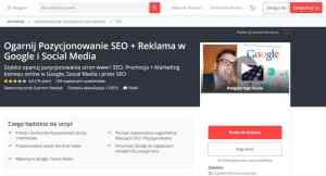 Kurs online Ogarnij Pozycjonowanie SEO i Reklama w Google i Social Media
