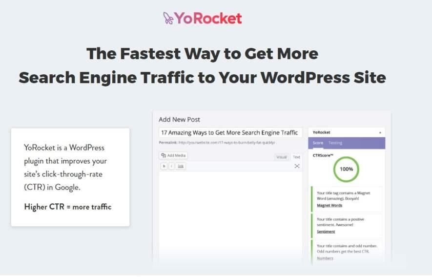 wtyczka YoRocket do oceny tytułów i opisów stron w celu zwiększenia ruchu na stronie www
