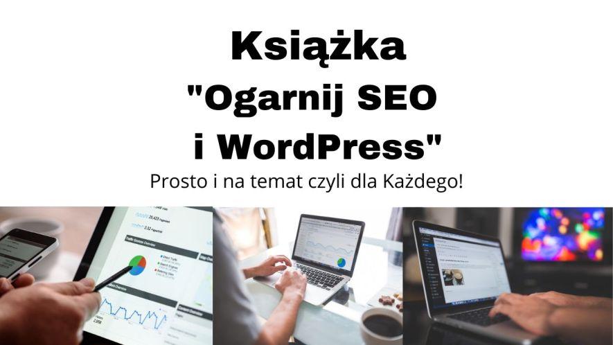 Książka Ogarnij SEO i WordPress
