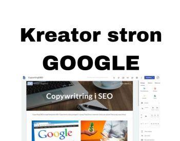 Google Sites PL - Kreator tworzenia stron www i bloga za darmo - Poradnik