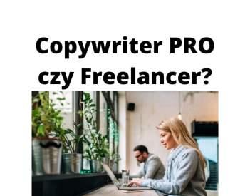 Profesjonalny copywriter a freelancer — jakich copywriterów wybrać?