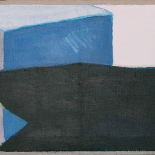 sídliště / housing development, ??? cm, akryl na plátně / acrylic on canvas, 2009