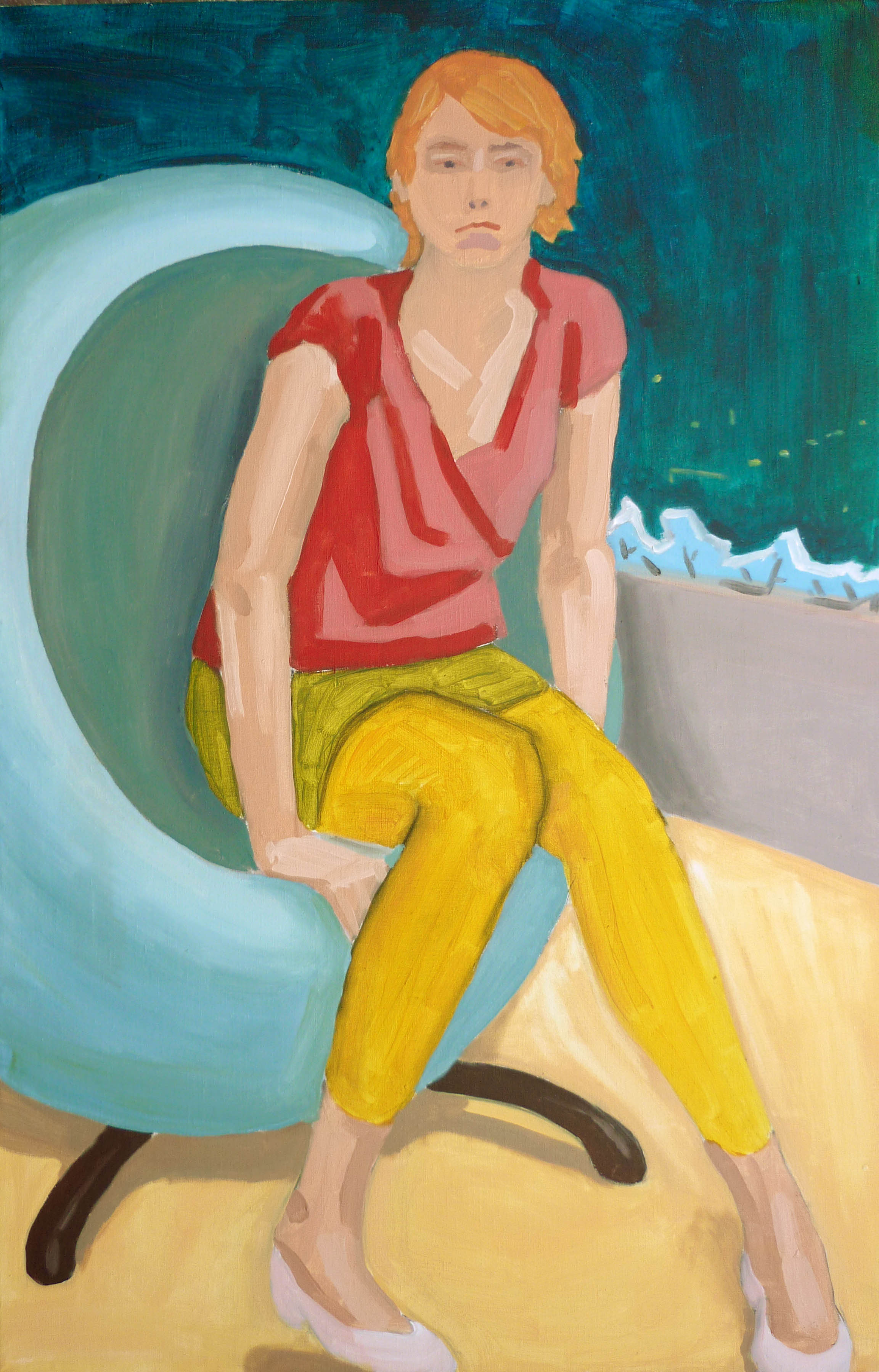kristyna, ??? cm, akryl na plátně / acrylic on canvas, 2010