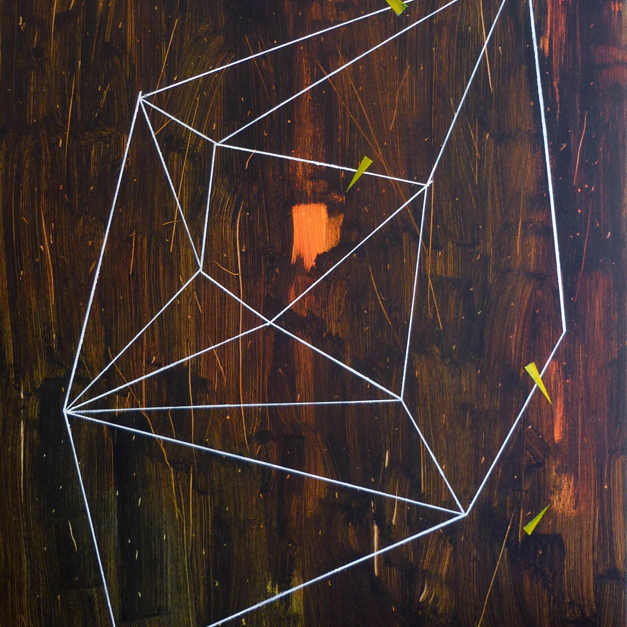 Łem, 105x90 cm, akryl na plátně / acrylic on canvas, 2014