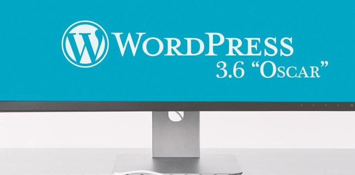 """Nareszcie jest WordPress 3.6 """"Oscar"""""""