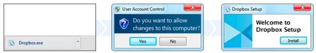 Instalacja Dropboxa | Backup