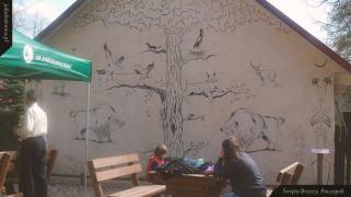 Leśny mural | Święto Brzozy