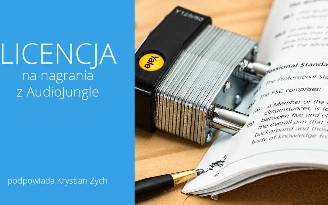 Licencja na nagrania z AudioJungle