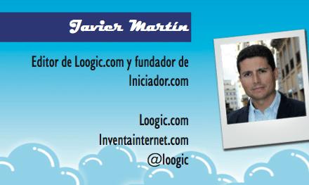Perfil emprendedor de: Javier Martín, loogic.com