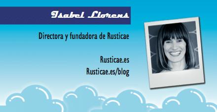 Perfil emprendedor de: Isabel Llorens, rusticae.es