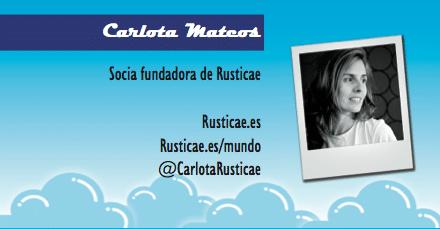 Perfil emprendedor de: Carlota Mateos, rusticae.es