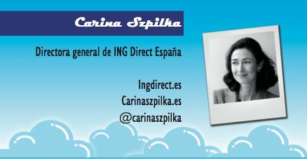 El perfil emprendedor de: Carina Szpilka, INGdirect.es