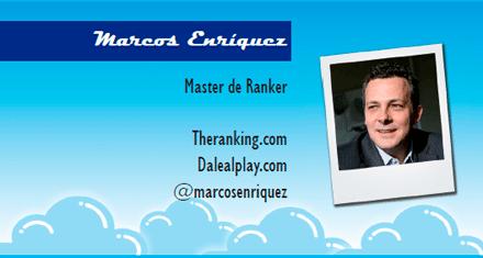 El perfil emprendedor de: Marcos Enríquez, theranking.com