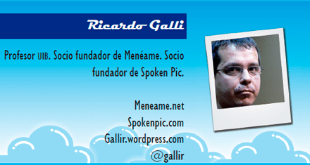 El perfil emprendedor de: Ricardo Galli, meneame.com